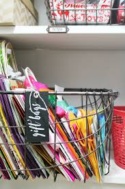 our little gift wrapping spot in our closet full of randomness i am excited to do a series all about diffe types of closet organization in the
