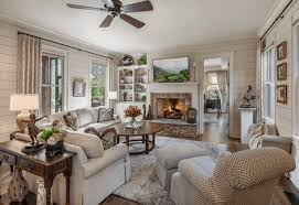 cozy neutrals in a living room
