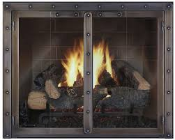 furniture wonderful glass fireplace doors energy efficiency with black stainless steel fireplace design also gas fireplace