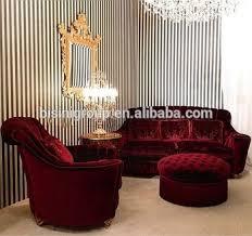 red velvet sofa. Royal French Versailles Red Velvet Upholstery Couch Set, Custom Imperial Ruby Cozy Sofa E