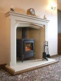 Tall Manor Fireplace