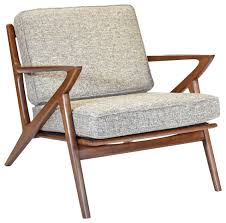 Mid century modern furniture Original Zach Mid Century Modern Walnut Lounge Chair Midcentury Armchairs And Accent Chairs By Gingko Furniture Midcentury Home Zach Mid Century Modern Walnut Lounge Chair Midcentury Armchairs