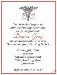 Nursing Graduation Party Invitations Details About 20 Graduation Party Invitations Nurse Caduceus Red