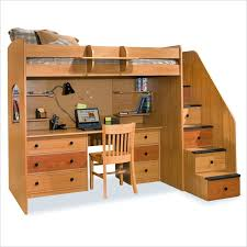 Berg Furniture Utica Lofts Twin Loft Bed with Storage Stairs - 23-835-XX