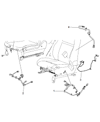 2011 chrysler town country wiring seats front diagram i2264285