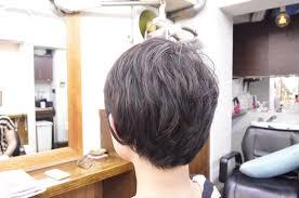 くせ毛 ショート くせ毛を生かしてショートスタイルに