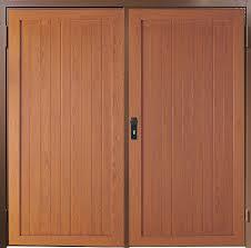 images of wooden side hinged garage doors woonv com