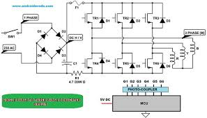 three phase to single phase converter circuit diagram the wiring single phase to three phase converter circuit diagram