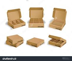 collection kraft box design package vector stock vector 448834717 collection of kraft box design package vector eps10