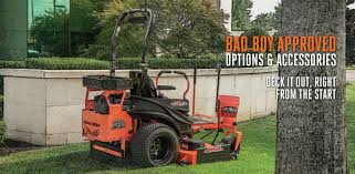 lawn mower accessories for tilling aerating mulching more bad boy mowers