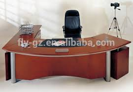 oak office table. top level executive manager working table desk oak veneer office