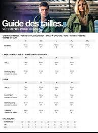 Size Chart Superdry Clothes Chart