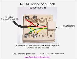 telephone nid box wiring electrical wiring diagram