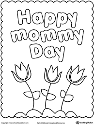 Small Picture Happy Mothers Day Coloring Page MyTeachingStationcom