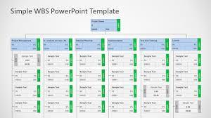 Work Breakdown Structure Vs Gantt Chart Work Breakdown Structure Wbs Powerpoint Diagram