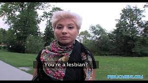 Public Agent Fucks Lesbian