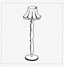 floor lamp clipart black and white. Wonderful Clipart Table Lamp Clipart Black And White  Lovely Free  Floor  Inside A