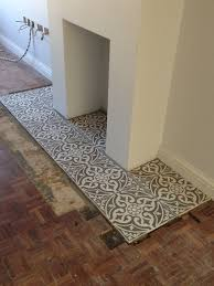 tiled hearth google search more