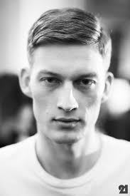 Mens Comb Over Hairstyle Bastian Theiry French Male Model For The Hubbs Pinterest