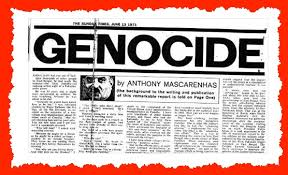 genocide the sunday times essay about s mass  genocide the tony mascarenhas article