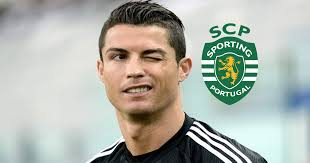 Resultado de imagem para Cristiano ronaldo sporting