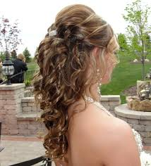 Prom Hair Style Up Half Up Half Down Long Hair Updo Stylist Jeanette At Salon 151 2361 by wearticles.com