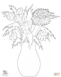 Small Picture adult coloring pages of flowers in a vase coloring pictures of