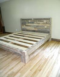 diy queen bed frame with headboard queen size bed frame with pallets unique best pallet amp
