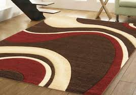 chocolate brown and red rugs rug designs