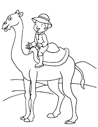 Small Picture Boy on camel coloring page Download Free Boy on camel coloring