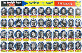 U S Presidents Write A Mat