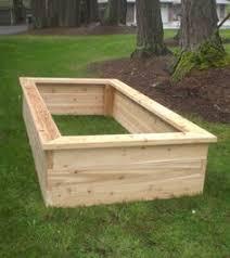 cedar garden box. Easy, Sturdy Cedar Raised Bed For Vegetable Gardens. Garden Box