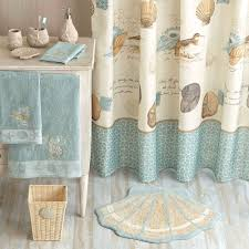 better homes and gardens coastal collage fabric shower curtain com