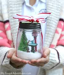 Christmas Snowglobes Perfect Homemade Gift My Frugal Adventures