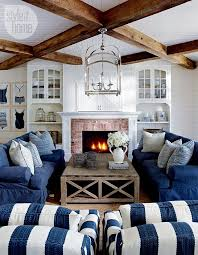 coast furniture and interiors. beaded board ceiling with beams and above fireplace lake muskoka cottage coastal interiors love everything except the stripe chairs coast furniture i