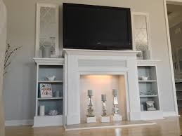 Build A Fake Fireplace Ana White My First Diy Project Diy Projects