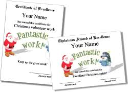 Printable Christmas Certificates Printable Christmas Certificates 41
