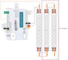 wiring ws2812 8 bit rgb led strip arduino 14core com ws2812 vs ws2812b schematics diagram comparison wiring diagram