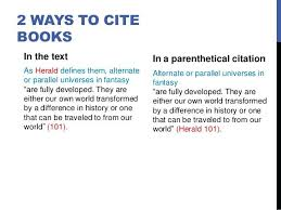 How To Cite A Quote From A Textbook Mla For Citing A Book In Format Fascinating How To Cite A Quote