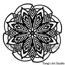 Mandala Style Paper Cut Pattern 004 Personal Use Pattern Cut Your Own Cutting Patterns Paper Cutting Template