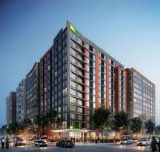 Groundbreaking Holiday Inn Express Hotel In Downtown
