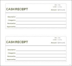 Printable Receipt Blank Printable Sales Receipt Template Free
