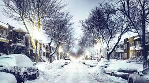 2560x1440 winter, city, street 1440P ...