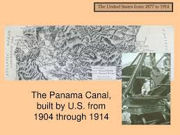 Image result for 1914, the U.S.-built Panama Canal