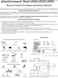 Design Tech International Springfield Va Autocommand Model 20021 20721 20921 V Pdf Free Download