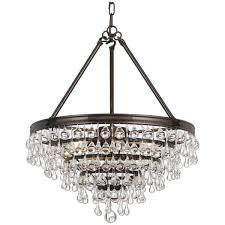 lighting appealing crystal teardrop chandelier 8 ch6562 os gt 10g pi cf teardrop chandelier crystal champagne