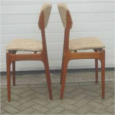 antique dining room chairs unique o d mobler set dining chairs in teak and wool erik buch