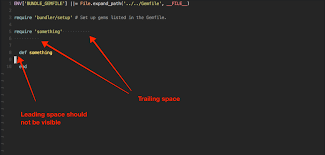 How Can I Visualize Trailing Whitespace Like This Emacs Stack