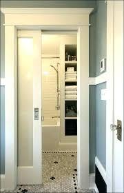 Nice Sliding Bathroom Door Ideas Bathroom Door Ideas Sliding Bathroom Door Door  Design Door Barn Door Locks