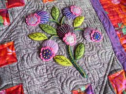 Sewing & Quilt Gallery: Wonderful Wool Applique Quilt   Appliqué ... & Sewing & Quilt Gallery: Wonderful Wool Applique Quilt Adamdwight.com
